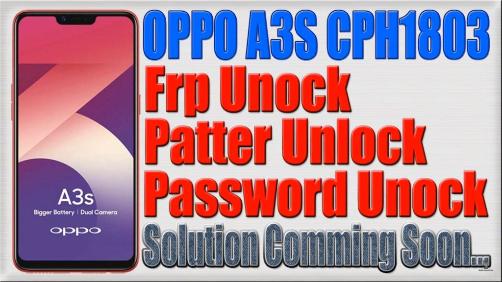 How To Unlock Oppo A3S Forgot Password - gaurani almightywind info